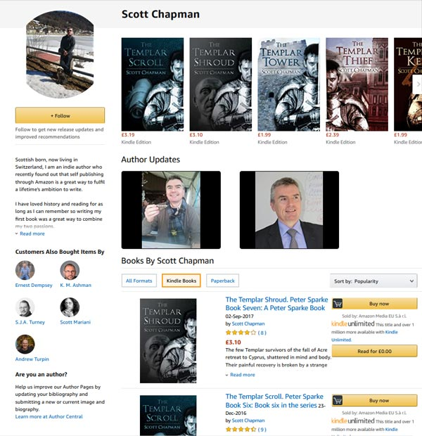 Author Central Scott Chapman